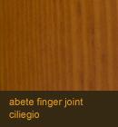Abete color ciliegio