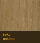 Iroko naturale
