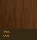 Iroko color noce