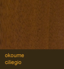 Okoume color ciliegio