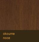 Okoume color noce