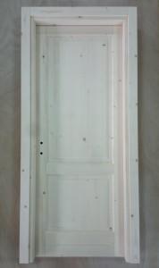 Porta interna in legno massello Abete della Val di Fiemme
