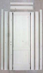 Kit porta legno masselo grezzo in Abete Rosso della val di ...