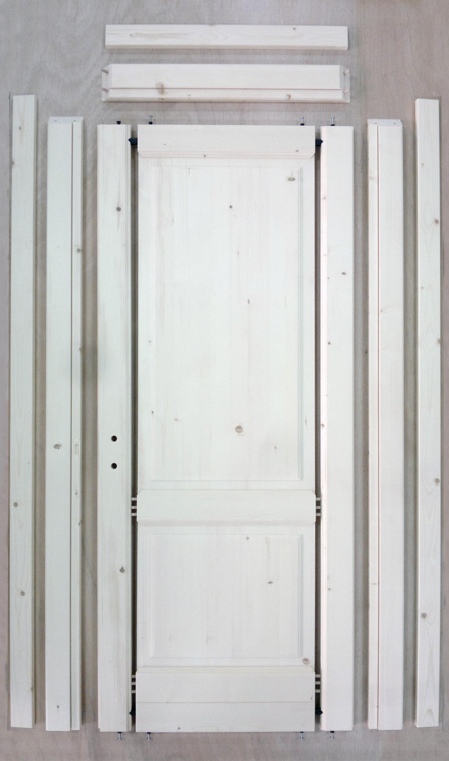 Kit porta in legno infissi ingrosso produzione porte e for Porte legno grezzo